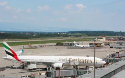 Emirates presque en quotidien à Genève